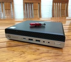 Hp Mini Prodesk 600 G3 Core i5 7500t Ram 8 Hdd 500